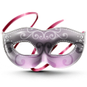 Masquarade mask icon