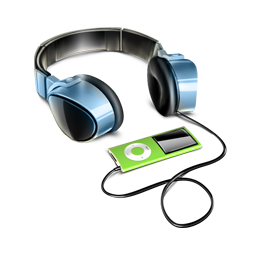 Headphones_with_ipod_icon_by_artdesigncat.com