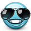 Emoticon_Smiley_Cool_Sunglasses