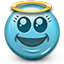 Emoticon_Smiley_angel_saint_virgin