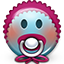 Emoticon_Smiley_baby_newbie_pacifier