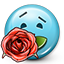 Emoticon_Smiley_rose_gift_love